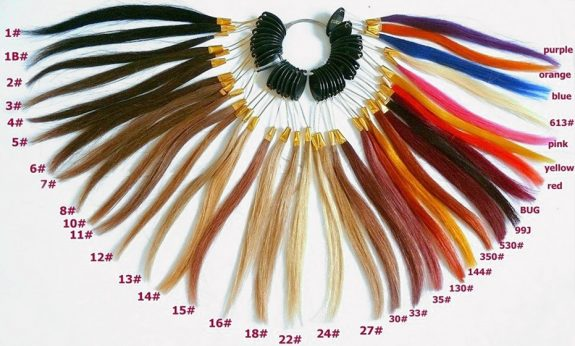 Colour Ring For Hair Extensions